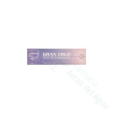 GRAN CRUZ TEST DE EMBARAZO
