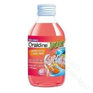 ORALDINE JUNIOR ENJUAGUE BUCAL 400 ML