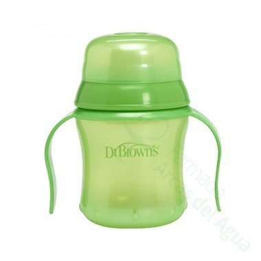 TAZA EDUCATIVA DR BROWN´S NATURAL FLOW + 6 M 170 ML