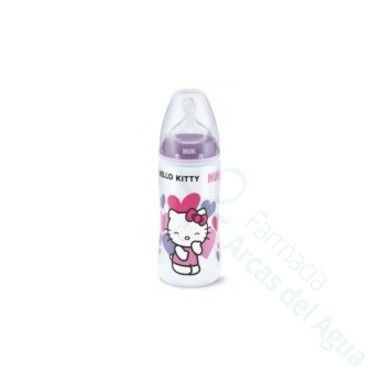 BIBERON 0 BPA FC LATEX NUK 2L 300 ML HELLO KITTY