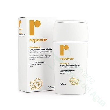 REPAVAR PEDIATRICA CHAMPU COSTRA LACTEA 200 ML