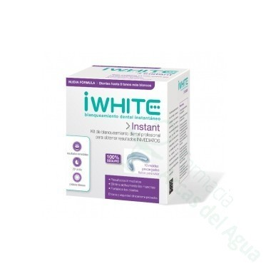 I WHITE INSTANT MOLDE DENTAL 10 MOLDES