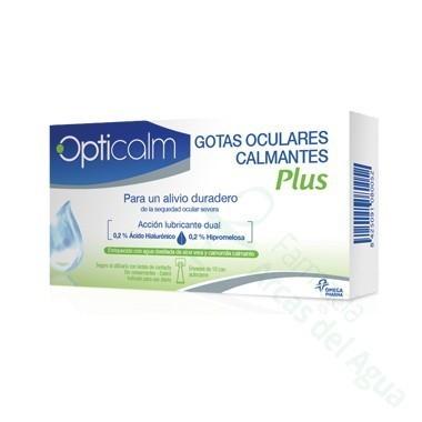 OPTICALM PLUS BY INNOXA GOTAS OCULARES CALMANTES 10 MONODOSIS