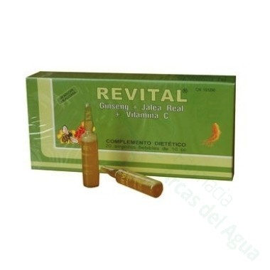 REVITAL JALEA REAL AMP BEBIBLES 20 AMPOLLAS