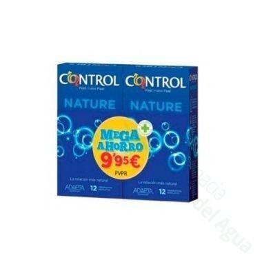 PACK MEGAPRECIO CONTROL NATURE PRESERVATIVOS 24 UDS