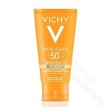 VICHY CAPITAL SOLEIL BB CREAM UNTUOSA SPF 50 COLOREADA 50 ML