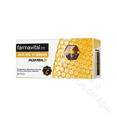 FARLINE COMPLEMENTOS JALEA REAL VITAMINADA 10 ML 20 AMP