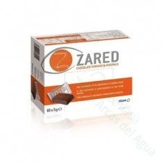 ZARED CHOCOLATE VITAMINS AND MINERALS 60 BARRITAS