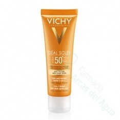 IDEAL SOLEIL SPF 50+ CUIDADO ANTIMANCHAS 3 EN 1 COLOR 50 ML