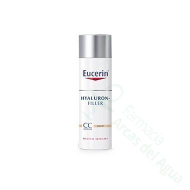 EUCERIN ANTIEDAD HYALURON FILLER CC CREAM COLOR CLARO 50 ML