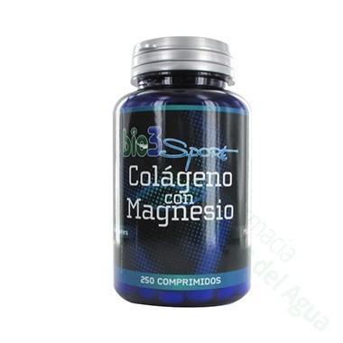 BIO3 COLAGENO CON MAGNESIO 250 COMP