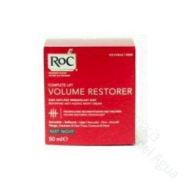 ROC COMPLETELIFT VOLUME RESTORE CREMA REMODELADORA ANTIEDAD NOCHE 50 ML