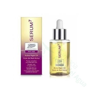 BOOTS LABORATORIES SERUM7 LIFT CREMA REJUVENECEDORA DE NOCHE 50 ML