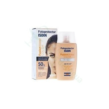 FOTOPROTECTOR ISDIN SPF-50 FUSION WATER COLOR 50 ML
