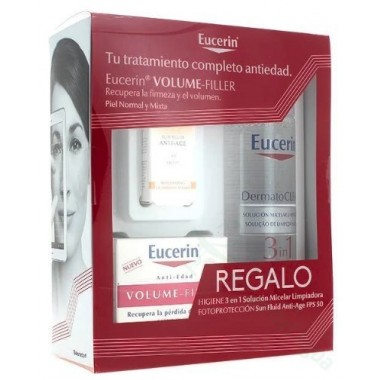 PACK EUCERIN VOLUME FILLER NORMAL Y MIXTA 3X1