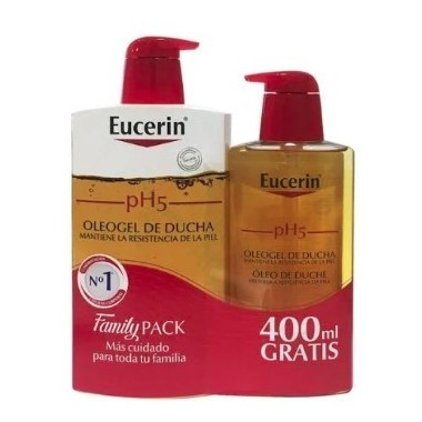 PACK EUCERIN GEL BAÑO+OLEO GEL