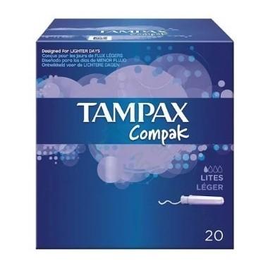 TAMPAX LITES 20 UDS
