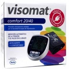 TENSIOMETRO DIGITAL CON ADAPTADOR DE CORRIENTE VISOMAT COMFORT 20/40 DE BRAZO