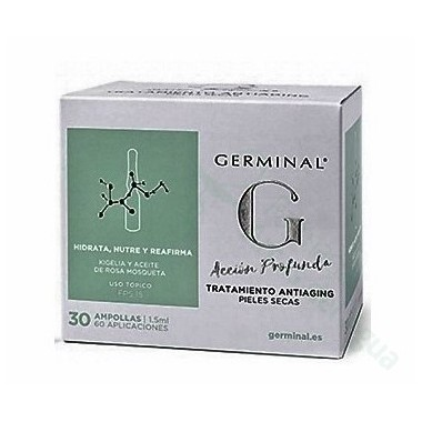 pack germinal accion profunda y ampolla flash