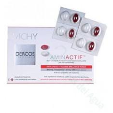 VICHY DERCOS AMINACTIVE COMP NUTRICIONAL ANTICAIDA REACTIVADOR DE LA SALUD CAPILAR 30 COMP + 30 CAPS