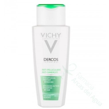 VICHY DERCOS TECHNIQUE CHAMPU ANTICASPA FORTIFICANTE 200 ML