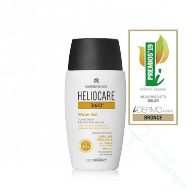 HELIOCARE 360º SPF 50+ WATER GEL HIDRATACION LONG-LASTING PROTECTOR SOLAR 50 ML